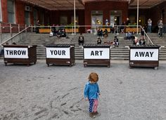 """""""Bob and Roberta Smith: Art Amnesty,"""" at MoMA PS1, invites artists to pledge to stop making art and to deposit their work there, raising intriguing questions about how artists and art are valued."""