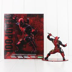 Deadpool Wade Wilson ARTFX X-MEN Weapon X CIVIL WAR X MEN PVC Action Figure Model Toy #>=#>=#>=#>=#> Click on the pin to check out discount price, color, size, shipping, etc. Save and like it!