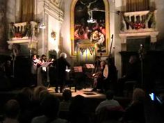 claudio monteverdi: il combattimento di tancredi e clorinda (parte 1) Andrea Riderelli direttore  Concerto del 4 ottobre 2008 presso l'Oratorio del Gonfalone, Roma