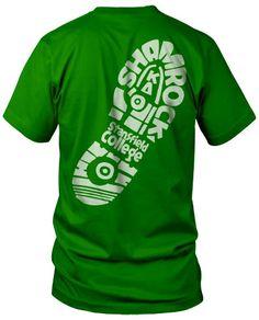 310b12c27 Shamrock 5K T-shirt Choir Shirts, Shamrock Shirt, Tee Shirt Designs, Tee