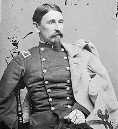 """Union Colonel George L. Willard - from website: """"On July 2nd Willard led the brigade in a counterattack against Barksdale's Mississippi Brigade, who had punched a half mile deep hole in the Union lines. Shouting """"Remember Harpers Ferry!"""" the brigade threw back the Mississippians, recaptured several Union cannon, and mortally wounded General Barksdale. It was doubly sweet revenge, as the Missippians had been one of the brigade's foes at Harpers Ferry"""""""