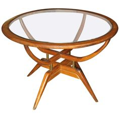 "Argentine Mid-Century Modern ""Mesita Arana"" Coffee Table 