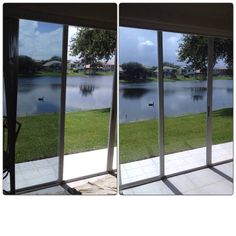 Solar Film (Before & After)