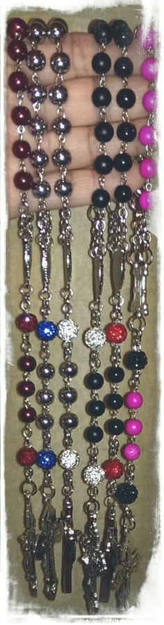 Car rosaries.. orders mimiandlola@gmail.com