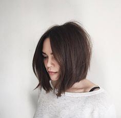 haircuts that are in style attractive chin length shaggy bob hairstyles 2018 for 4191
