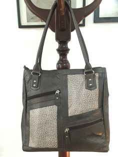 Leather bag. Handmade.