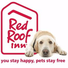 Red Roof Inn welcomes your pet at over 350 locations