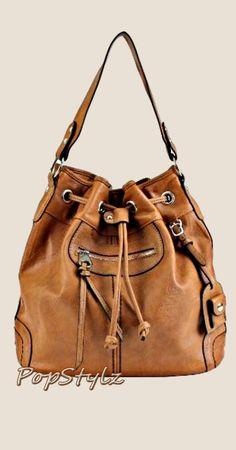 Scarleton Large Camel Handbag