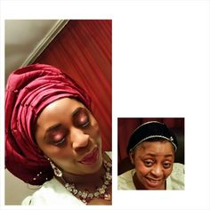Makeup and gele by Faauzy