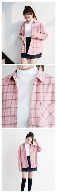 Pink Checkered