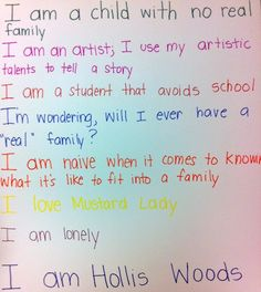 Quotes from pictures of hollis woods