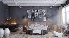 Behance üzerinde muhteşem Yatak Odası