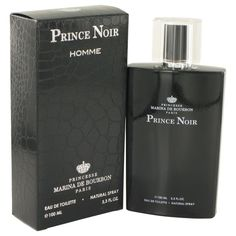 Prince Noir By Marina De Bourbon Eau De Toilette Spray 3.3 Oz