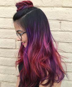 Hasil gambar untuk ombre rambut