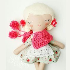 SpunCandy Handmade Bespoke Dolls - www.spuncandy.com