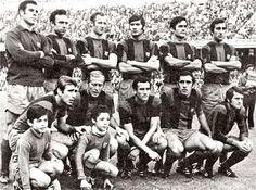 Equipos de fútbol: BARCELONA contra Athletic Club 14/11/1971