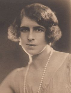 Princess Helen of Greece (1896--1982), 3rd child and 1st daughter of Queen Sophie of Greece.  Helen married Crown Prince Carol of Romania and became mother of Michael, last King of Romania.  Her older brother, King George I of Greece, was married to Carol's sister, Princess Elisabeth.