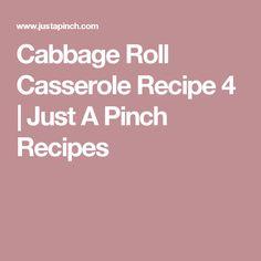 Cabbage Roll Casserole Recipe 4 | Just A Pinch Recipes