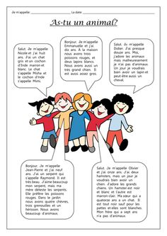 Pratice for learning how to talk about which pets you have and those you don't have. This resource Includes an answer worksheet and a test exercise to complete. Extension activity includes dialogues from five children telling you which pets they have . French Language Lessons, French Language Learning, French Lessons, Learning Spanish, Spanish Activities, Learning Italian, German Language, Spanish Lessons, Japanese Language