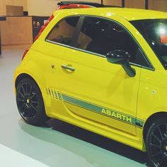 Lemon  #fiat #abarth #500 #biposto #595 #595competizione #car #cars #beastcar #luxurycars #racing #vscocam