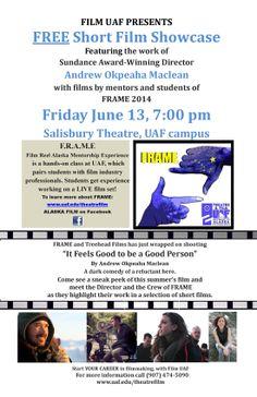 Film Screening at UAF Campus 6/13 @ 7pm
