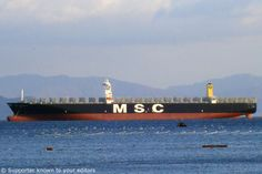 MSC Daniela - World's Largest Container Ship
