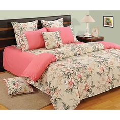Ordinaire Swayam Pink Paradise Printed Bed Linen Set   Let The Summer Sun Say Hello  To You While You Wake Up On This Bed Sheet Set That Has All The Shades Of  Summer.