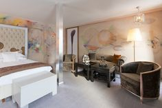 Ateliers de peinture ludiques et romantiques au Carlton Hotel Saint-Moritz !