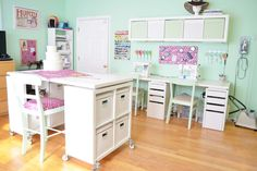 Room Ideas On Pinterest Craft Rooms Sewing Rooms And Craft Storage