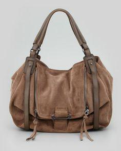 Jonnie Hobo Bag, Taupe by Kooba at Neiman Marcus.