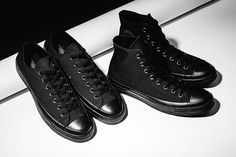 Converse Chuck Taylor All Star '70s Triple Black #tripleblack #trainers #sneakers #converse #chucktaylor