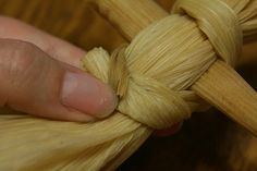 Corn Husk Doll Tutorial