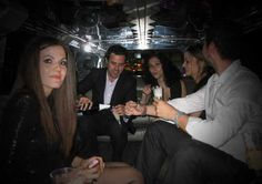 Miami limousine service for parties and evening events.