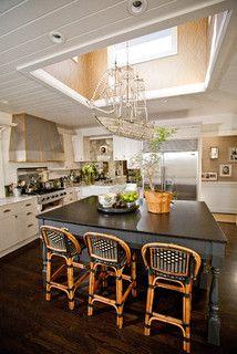 Andrea May Hunter Gatherer - eclectic - kitchen - san diego - by Andrea May Hunter/Gatherer  FLYING CRYSTAL SHIP!