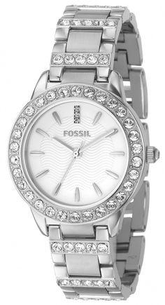 Fossil Watch , Fossil Fossil Ladies 3-Hand Stainless Steel Glitz Watch ES2362....$72.55