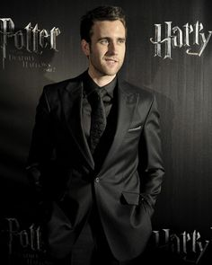 Matthew Lewis is gorg! all grown up.. plus I really love the black on black suit