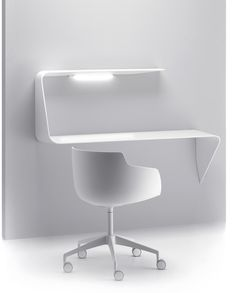 #Mamba #MDF #Italia #Design #Minimal #White #Chair #Desk @codeplusform