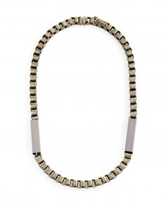 Jewelmint's Vanguard Necklace. I love this and can't wait to wear it. The magnetic clasp is especially cool.
