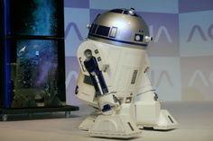 Yes, there is an R2D2 fridge that will deliver your drinks. Probably beats a visit to the Mos Eisley Cantina.