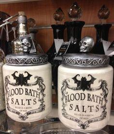 Blood Bath Salts at TJ Maxx