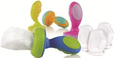 The Nuby Nibbler with Replacement Nets, perfect for weaning and baby's first self feeding