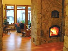 fire and stone Passive Solar Homes, Thermal Mass, Fire And Stone, Solar House, Green Life, House Plans, New Homes, Google Search, Water
