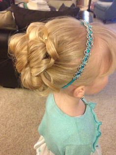 Little girls updo