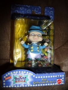 "Mattel 69359 Nickelodeon ""The Rugrats Movie"" Phil Collectible Figure - http://hobbies-toys.goshoppins.com/tv-movie-character-toys/mattel-69359-nickelodeon-the-rugrats-movie-phil-collectible-figure/"