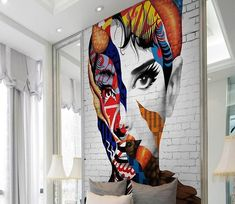 Paper Wallpaper, New Wallpaper, Custom Wallpaper, Graffiti Wallpaper, Wallpaper Ideas, Custom Wall Murals, 3d Wall Murals, High Quality Wallpapers, Traditional Wallpaper