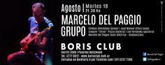 Marcelo Del Paggio Grupo Presentación en Boris Club / Agosto 2015