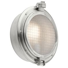 Clear Point 1 Light Outdoor Lantern in Brushed Aluminum (BA)