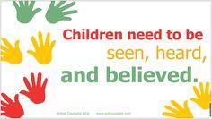 Vinyl banner for school counseling office