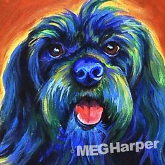 Penny ~ Pet Dog Portrait ~ Meg Harper — Meg Harper Art   Are you looking for a painting of your magnificent pet? Have Meg create a pet portrait just for you, today.    #dog #puppy #best friend #inspirational #kindness #animalpainting #art #painting #pets #petportrait #animal #love #megharper #megharperart