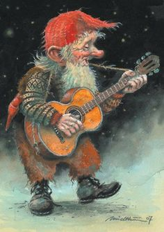 Balladeer of Northern Lights, Gnome Denver yodels 'Country Fjords, Take Me Home.'